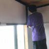 西側の部屋ペンキ塗り完了 新会堂DIY記5