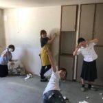 壁紙をはがす 新会堂DIY記1