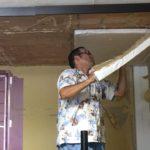 防音壁を剥がす!新会堂DIY記13