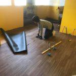 キッチンの床貼り。防音壁の完成!新会堂DIY記16