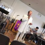 Rev.Taisuke 特別礼拝が執り行われました。