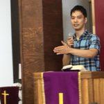 久保田文吾 牧師による特別礼拝を開催しました