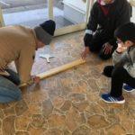 床材貼りが完了☆三重ホープチャペルDIYその4